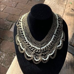 Baublebar bib necklace.